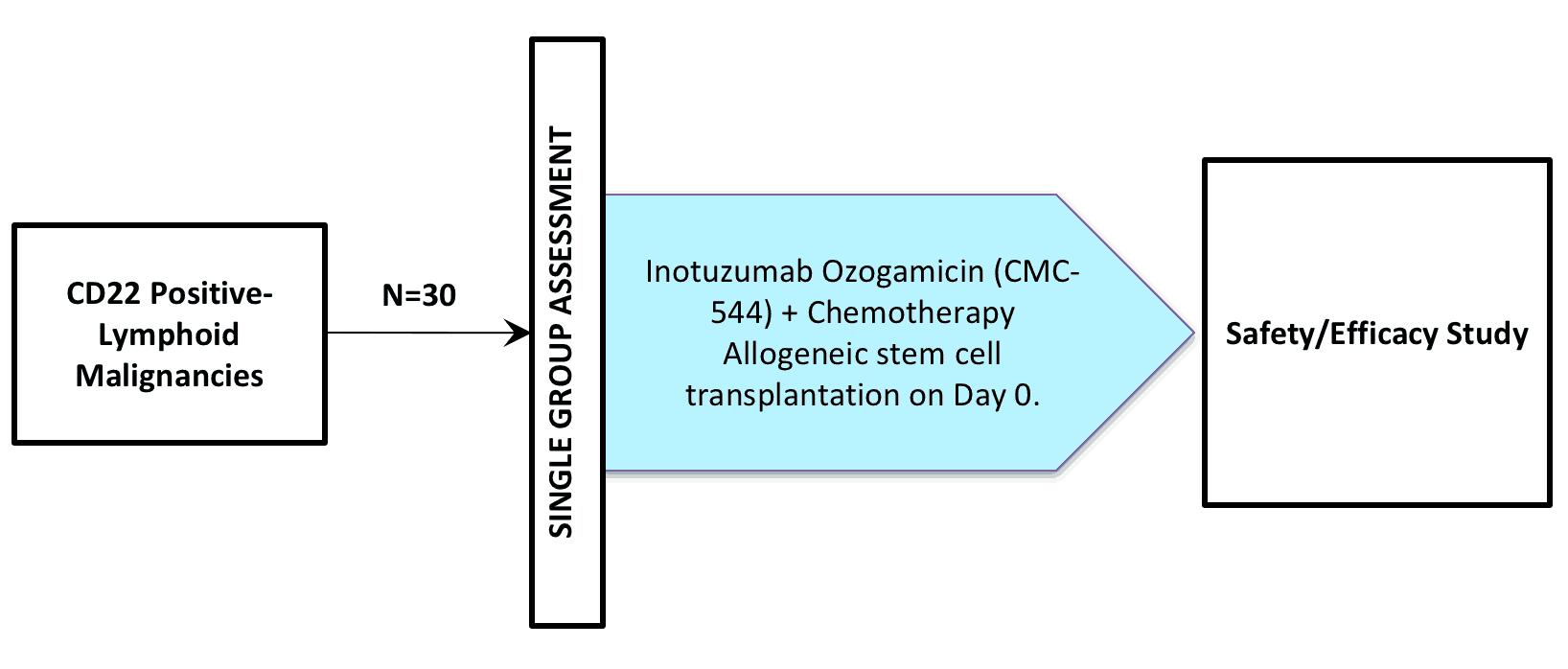 NCT01664910 (Clinical Trial / inotuzumab ozogamycin / CMC-544)